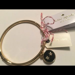 Star KATE SPADE bangle bracelet seeing stars NEW